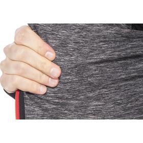 Compressport 3D Thermo Seamless Koszulka do biegania z długim rękawem czerwony